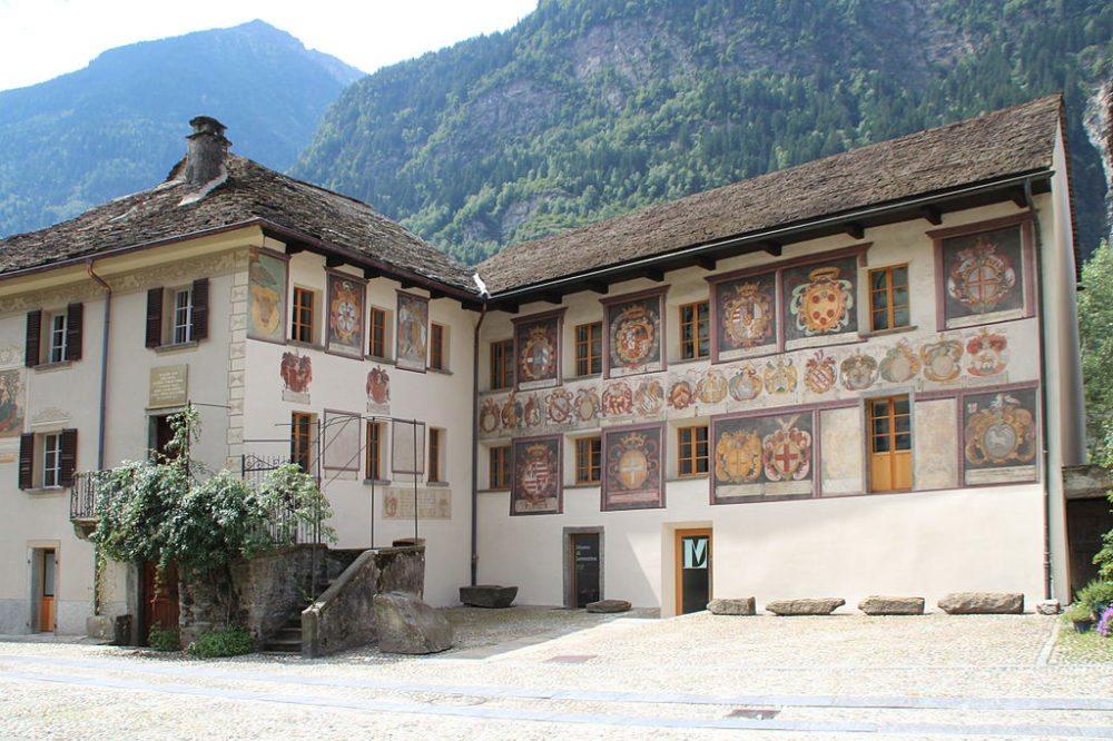 Museum  Leventina in Giornico (Bild: Adrian Michael, Wikimedia, GNU)