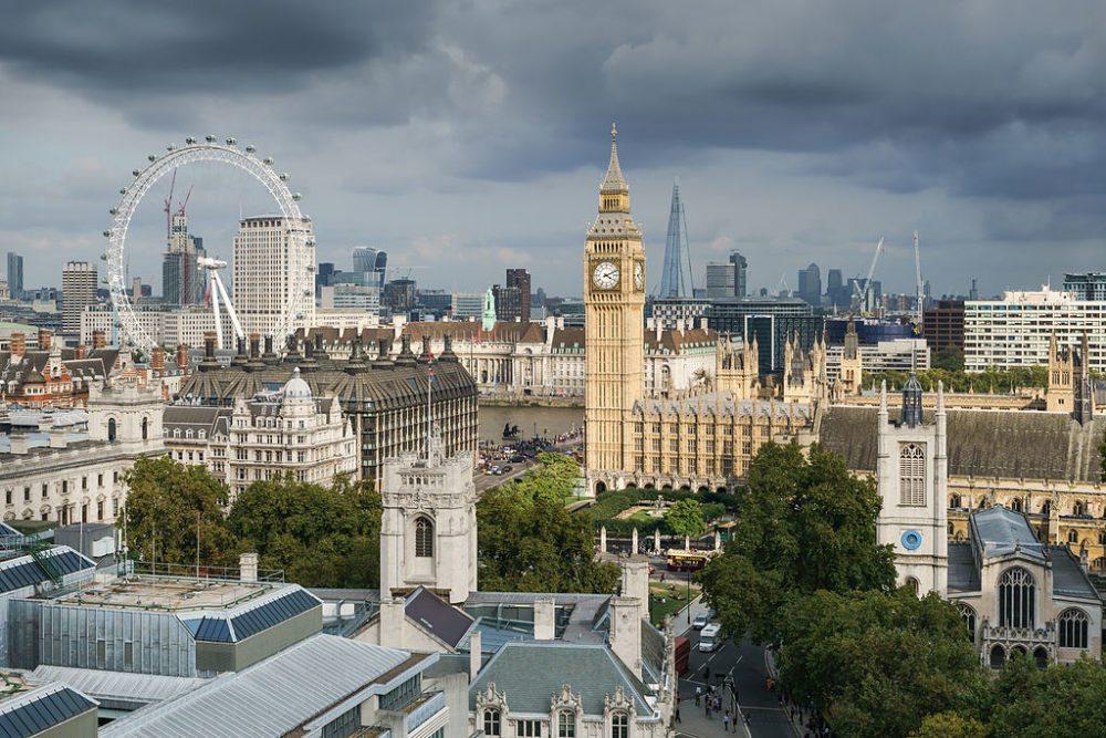 Altstadt von London mit den wichtigsten Sehenswürdigkeiten (Bild: Colin, Wikimedia, CC)