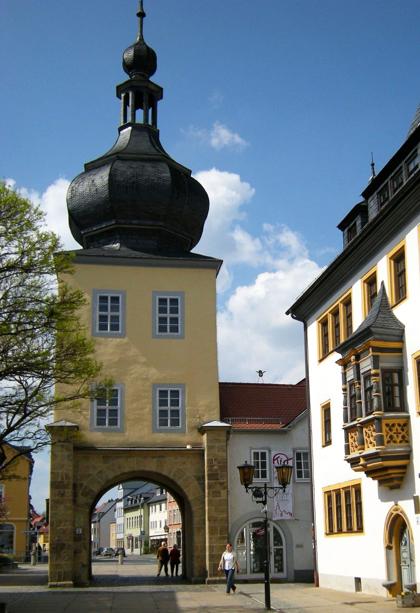 Blankenburger Tor in Saalfeld (Bild: Franzfoto, Wikimedia, GNU)