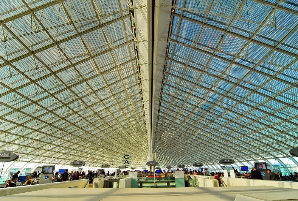 Der Airport Charles de Gaulle in Paris (Bild: nhtg / Shutterstock.com)