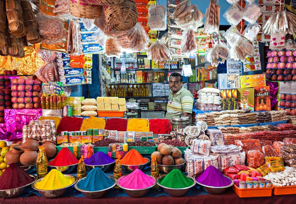 Markt in Delhi (Bild: saiko3p / Shutterstock.com)