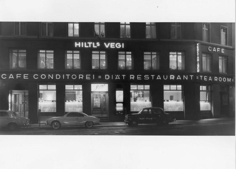 Fassade des Restaurants Hiltl 1931 (Bild: Haus Hiltl)