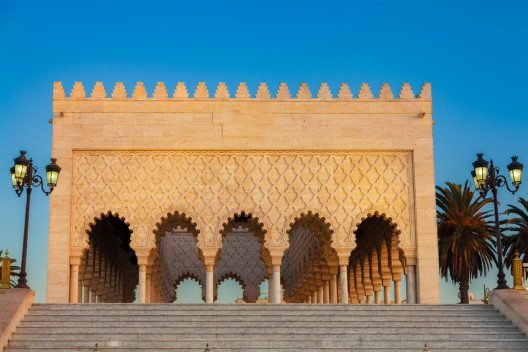 Mausoleum von Mohammed V (Bild: © Jose Ignacio Soto - shutterstock.com)