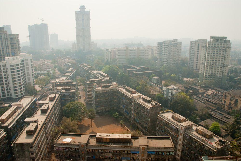 Smog in Mumbai (Bild: Ajay Bhaskar / Shutterstock.com)