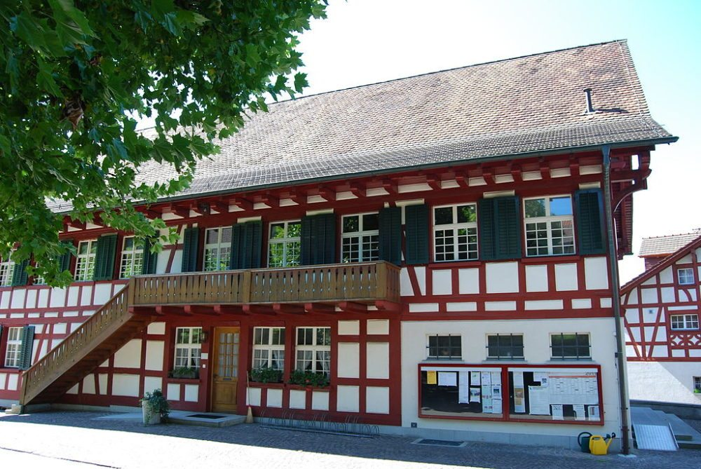 Gemeindehaus Unterstammheim, Kanton Zürich (Bild: Dietrich Michael Weidmann, WIkimedia, GNU)