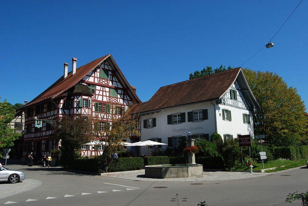 Gasthof zum Hirschen in Oberstammheim (Bild: Dietrich Michael Weidmann, WIkimedia, GNU)