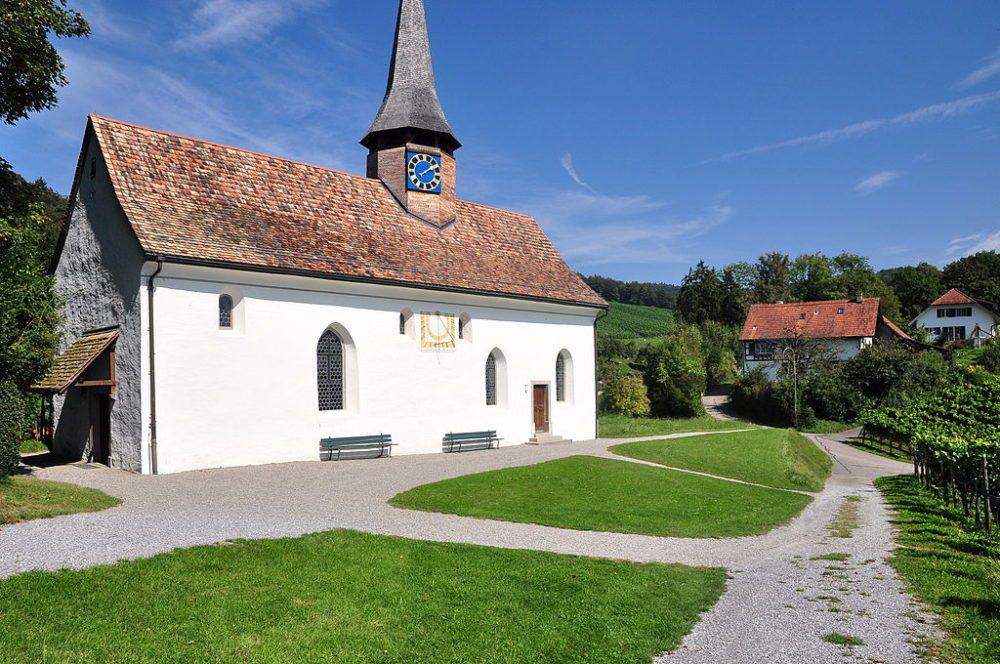 Reformierte Galluskapelle in Oberstammheim (Bild: Roland zh, Wikimedia, CC)