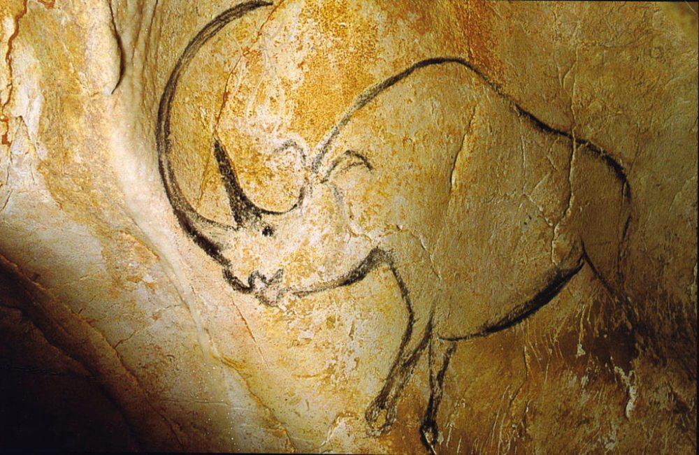 Die Wandmalerei in der Chauvet-Höhle in der Nähe des Ardèchetals (Bild: Inocybe, Wikimedia)