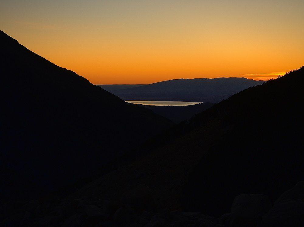 Sonnenaufgang bei Las Torres (Bild: © Constantin Schaible)