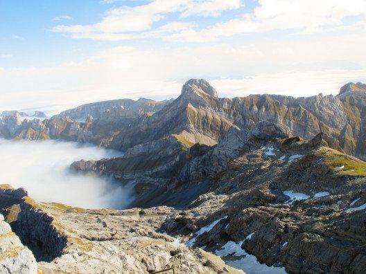 Der Berg Säntis (Bild: © Benny-K - shutterstock.com)