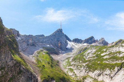 Säntis und Alpstein (Bild: © Vogel - shutterstock.com)