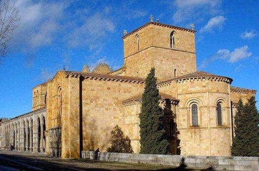 Die Basilika San Vicente in Avila (Bild: Zarateman, Wikimedia, CC)