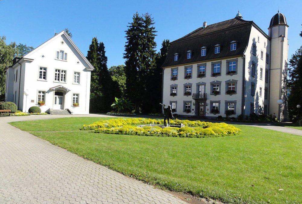 Bad Säckingen – Schloss Schönau. (Bild: Mattes, Wikimedia, CC)