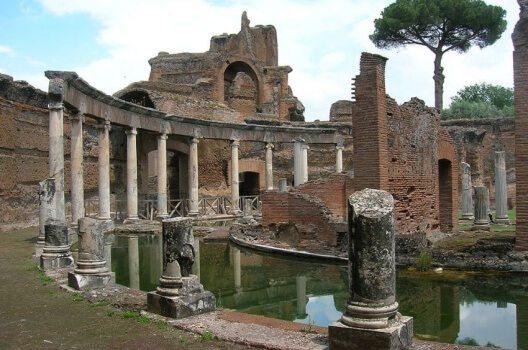 Villa Adriana - antikes Versailles und Freizeitvergnügen (Bild: LPLT, Wikimedia, GNU)