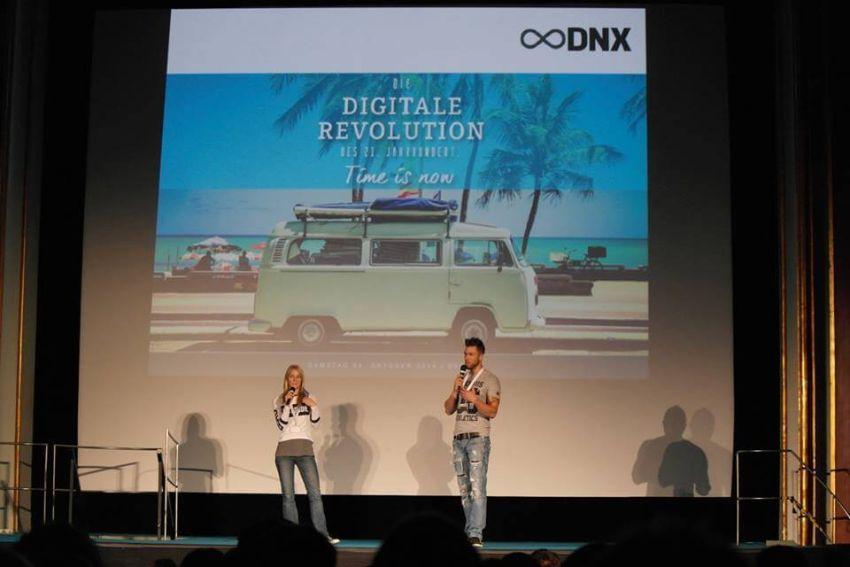 Marcus und Felicia auf ihrem DNX Event. (Bild: © Felicia Hargarten)