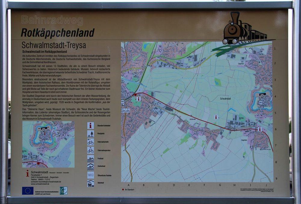 Bahnradweg Rotkäppchenland (Bild: Gerold Rosenberg, Wikimedia, CC)