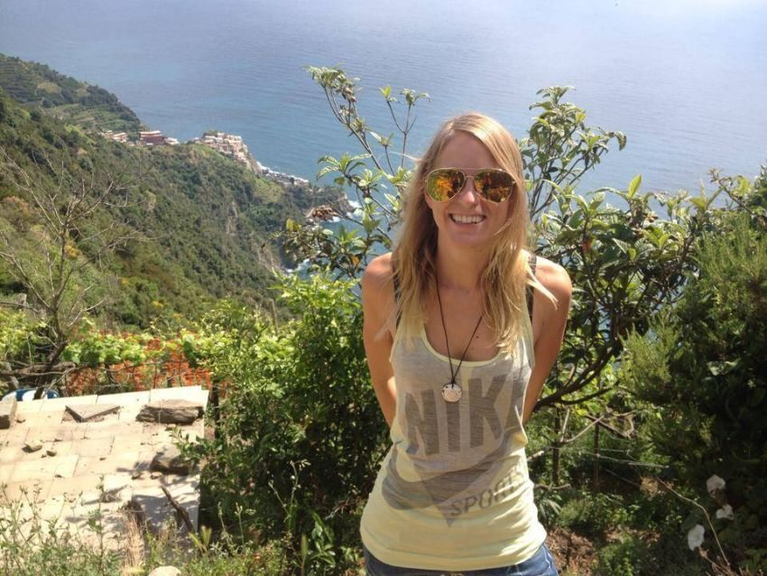 "Der Küstenstreifen ""Cinque Terre"" in Italien. (Bild: © Felicia Hargarten)"