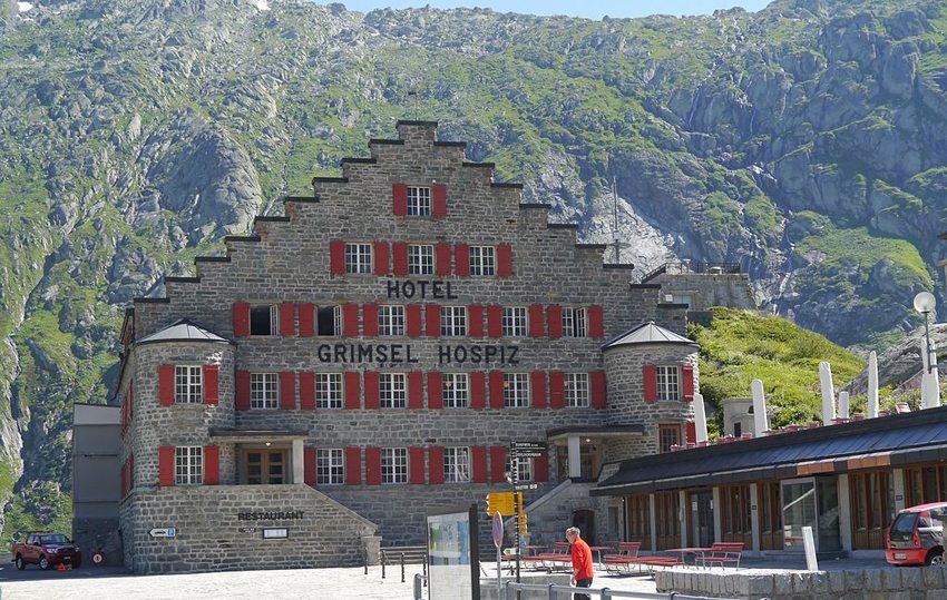 Hotel Grimsel Hospiz (Bild: Zairon, WIkimedia, CC)