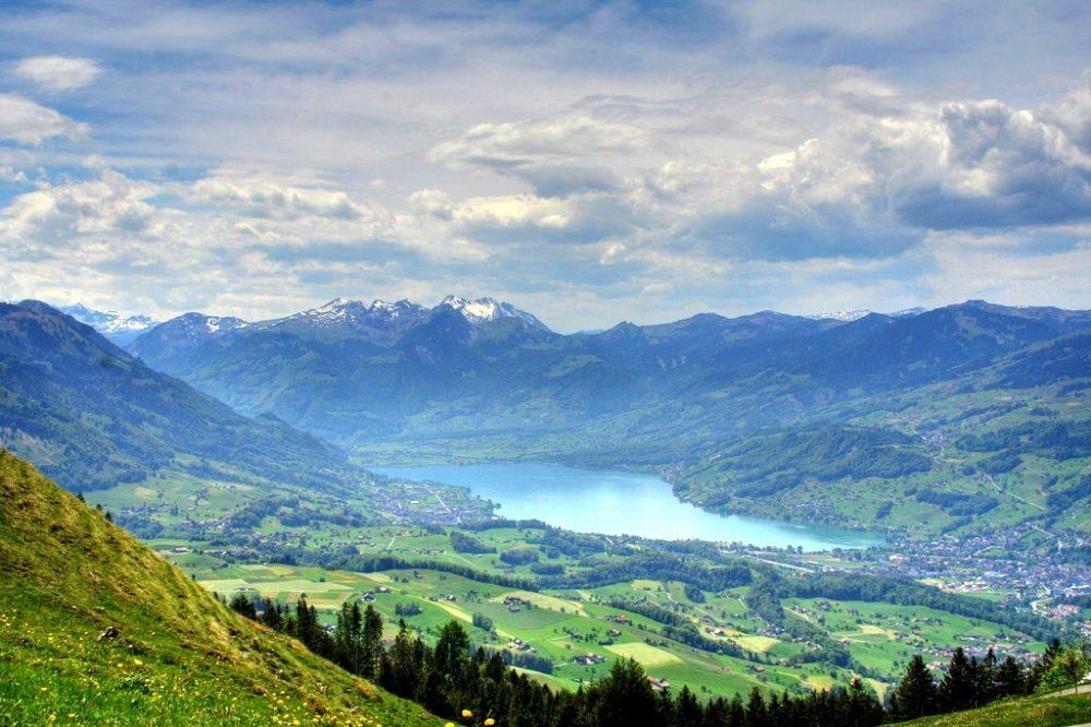 Sarner See, Obwalden (Bild: Orion666, Wikimedia, CC)
