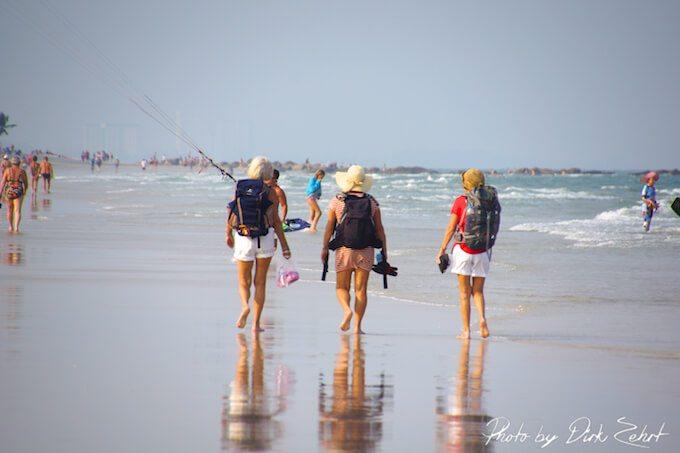 Strandwandern - Der Klassiker schlechthin (Bild: © Dirk Zehrt)