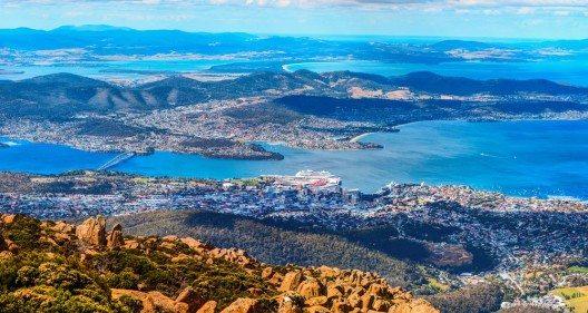 Tasmaniens Hauptstadt Hobart (Bild: © Yevgen Belich - shutterstock.com)
