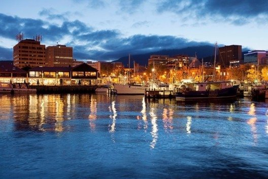 Tasmaniens Hauptstadt Hobart (Bild: © Steve Lovegrove - shutterstock.com)