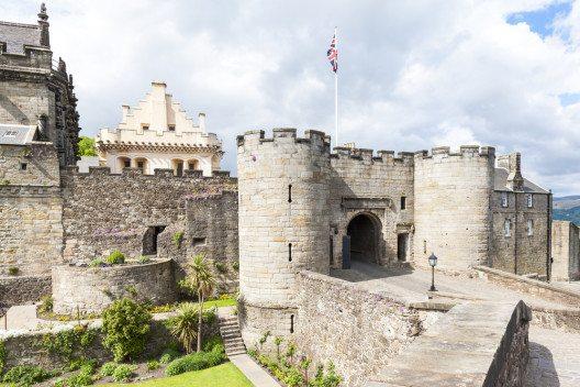 Stirling Castle – schottische Königsresidenz. (Bild: © PHB.cz (Richard Semik) - shutterstock.com)