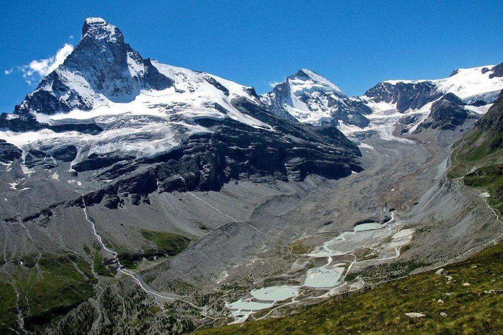 Das Matterhorn bietet ein imposantes Naturerlebnis. (Urheber: © Jackph / Wikimedia / public domain)
