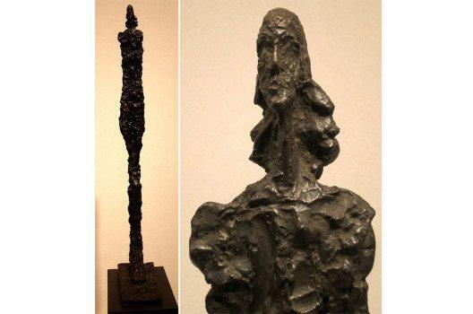 "Bronzeskulptur von Alberto Giacometti – die ""Femme de Venise"". (Bild: Wmpearl, Wikimedia, CC)"