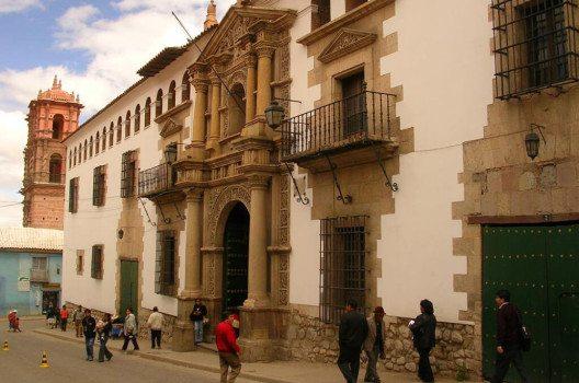 """Casa de la Moneda"" in Potosí, Bolivien. (Bild: Elemaki, WIkimedia, GNU)"