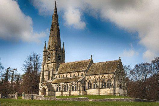 Ein gut erhaltener Sakralbau auf dem Parkgelände ist die St. Marys Church. (Bild: Juliet220, Wikimedia, CC)