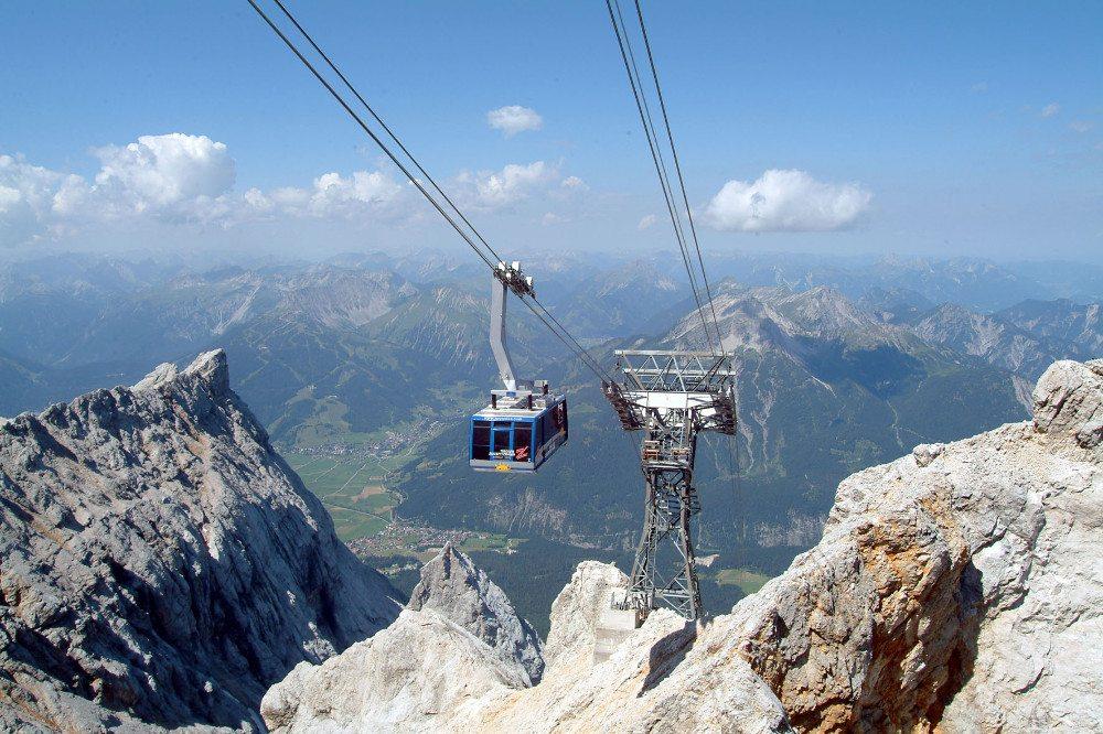 Die Tiroler Zugspitzbahn führt auf die Zugspitze in Tirol. (Bild: Tiroler Zugspitzbahn)