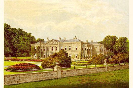 Studley Royal House 1880 (Bild: Wikimedia)