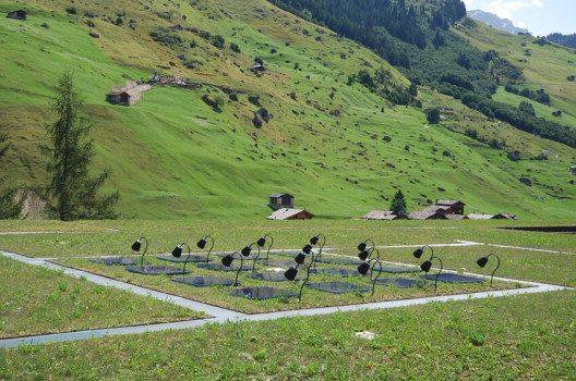 Das Dach der Therme Vals (Bild: Micha L. Rieser, Wikimedia, CC)
