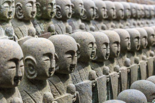 Die buddhistischen Bodhisattvas (Bild: © Tooykrub - shutterstock.com)