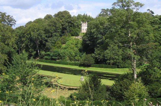Englische Gartenarchitektur lässt sich sehr gut in Studley Park studieren. (Bild: madmedea, Wikimedia, CC)