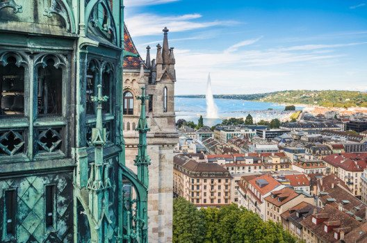 Panorama von Genf (Bild: Alexander Demyanenko / Shutterstock.com)