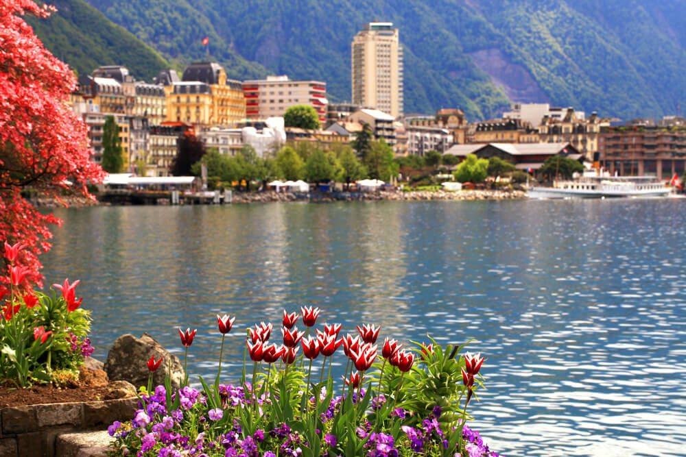 Der Genfer See ist ein wunderbares Reiseziel in der Schweiz. (Bild: © Inna Felker - shutterstock.com)