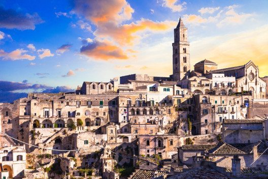 Altstadt von Matera (Bild: © leoks - shutterstock.com)