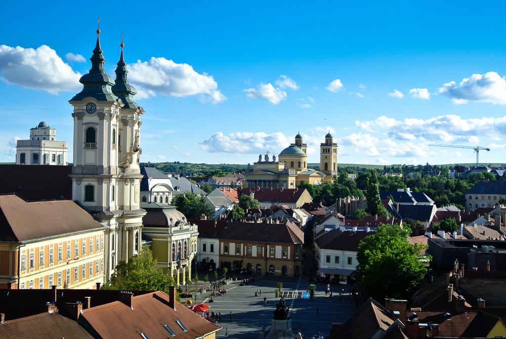 Eger, Ungarn (Bild: szitko - shutterstock.com)