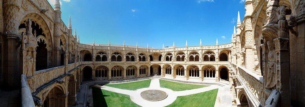 Das Hieronymuskloster in Lissabon gilt als bedeutendster Bau der Manuelinik. (Bild: © Christian Thiele / Wikipedia / CC)