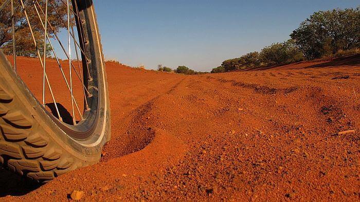 617 Kilometern in einer staubtrockenen Wüste (Bild: © Heike Pirngruber)