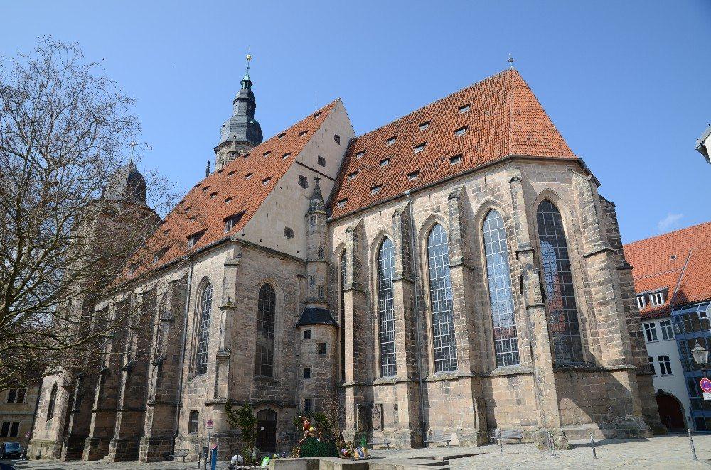 Die Morizkirche, Coburgs ältester Sakralbau – ein Werk der Gotik. (Bild: © Tilman2007 - CC BY-SA 3.0)