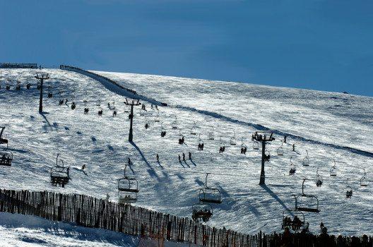 Skistation Valdesqui, Sierra de Guadarrama (Bild: Max Alexander / PromoMadrid, Wikimedia, CC)