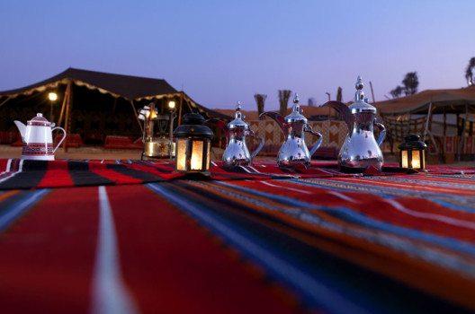 Ras Al Khaimah: Camp in der Wüste (Bild: FTI Frosch Touristik GmbH)