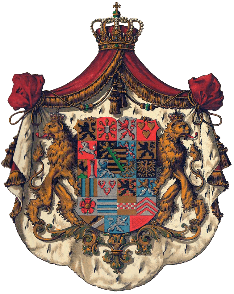 Wappen des Herzogs von Sachsen-Coburg und Gotha (Bild: © Hugo Gerhard Ströhl - wiki.org)