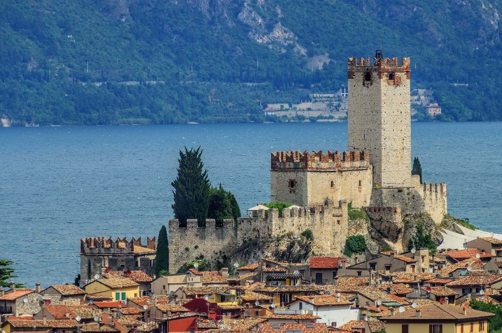 Castello Scaligero in Malcesine (Bild: © LianeM - fotolia.com)