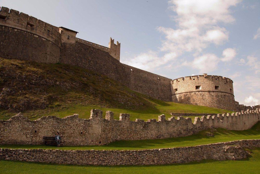 Castel Beseno in Rovereto (Bild: © scatto79 - fotolia.com)