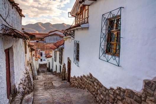 In den Strassen von Cusco (Bild: © Christian Vinces - shutterstock.com)