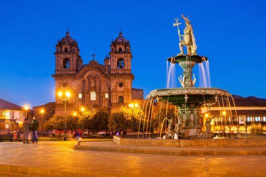 Die Kathedrale von Cusco (Bild: © saiko3p - shutterstock.com)
